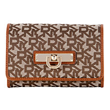 Buy DKNY Town And Country Vintage Medium Carry-All Purse, Chino / Caramel Online at johnlewis.com