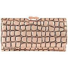 Buy Ted Baker Minthe Croc Print Matinee Purse Online at johnlewis.com
