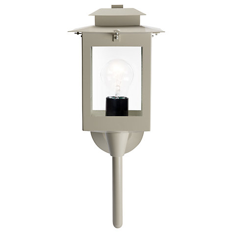 Buy John Lewis Downton Outdoor Wall Lantern, Clay Online at johnlewis.com