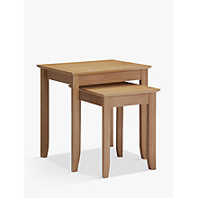 Buy John Lewis Alba Nest of 2 Tables Online at johnlewis.com