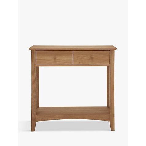 Buy john lewis alba console table john lewis for Sofa table john lewis