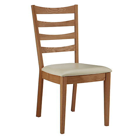 Buy John Lewis Alba Ladder Back Dining Chairs, Set of 2 Online at johnlewis.com