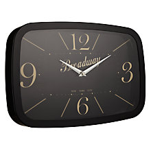 Buy London Clock Broadway Wall Clock Online at johnlewis.com