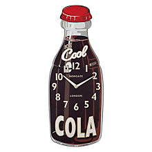 Buy Newgate Cola Wall Clock Online at johnlewis.com
