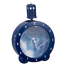 Buy Zeon Dr Who TARDIS Alarm Clock Online at johnlewis.com