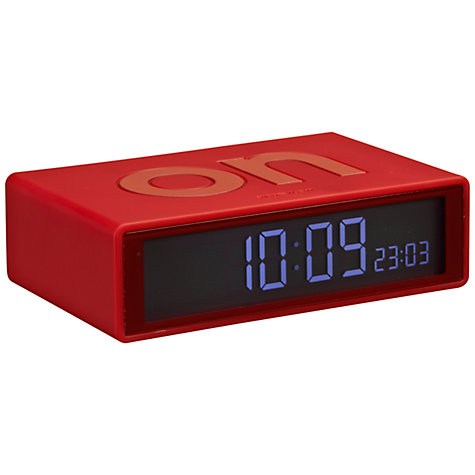 buy lexon flip alarm clock john lewis. Black Bedroom Furniture Sets. Home Design Ideas