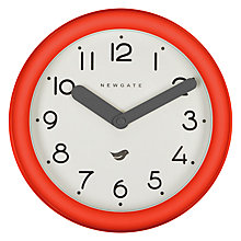 Buy Newgate Pantry Clock, Dia.22.5cm Online at johnlewis.com