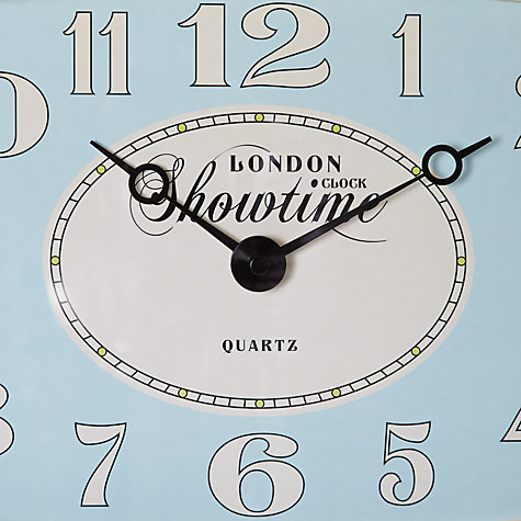 Buy London Clock Showtime Wall Clock, W32cm Online at johnlewis.com