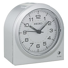 Buy Seiko Dome Sweep Alarm Clock Online at johnlewis.com