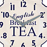 Buy Newgate Teapot Wall Clock, H27.5 x W38.5 x D4.5cm Online at johnlewis.com
