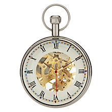 Buy Libra Skeleton Paperweight Clock in a Box Online at johnlewis.com