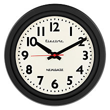 Buy Newgate Teletric Wall Clock, Dia.30cm Online at johnlewis.com