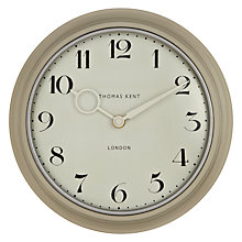 Buy Thomas Kent Cavendish Wall Clock, Dia.25cm, Cream Online at johnlewis.com
