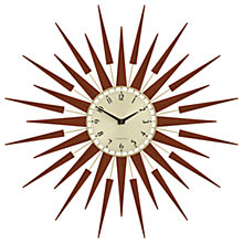 Buy Newgate Pluto Wall Clock, Dia.65cm Online at johnlewis.com