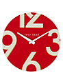 Thomas Kent Henley Wall Clock, Dia.38cm, Red
