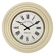Buy Thomas Kent Chaville Wall Clock, Dia.40.5cm Online at johnlewis.com