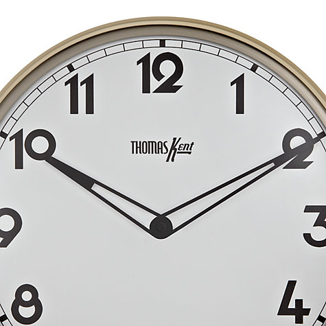 Buy Thomas Kent Empire Wall Clock, Dia.33cm Online at johnlewis.com