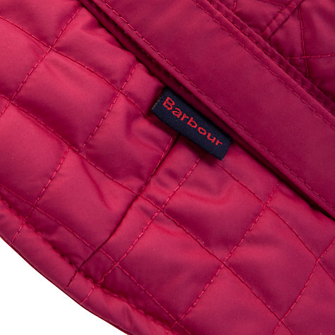 Buy Barbour Quilted Bucket Hat, Pink Online at johnlewis.com