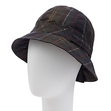 Buy Barbour Classic Trench Hat, Tartan Online at johnlewis.com