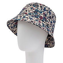 Buy Barbour Country Cottage Rain Hat, Blue Multi Online at johnlewis.com