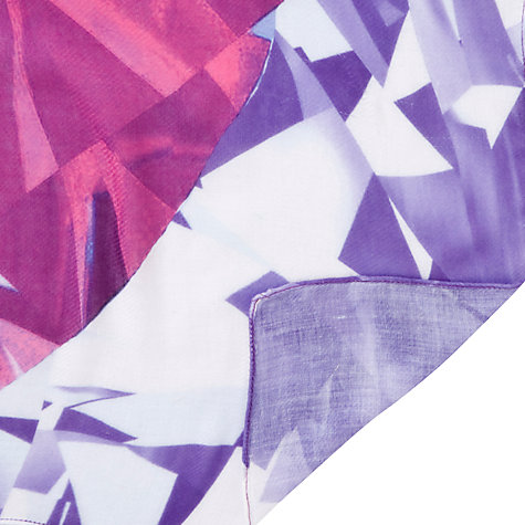 Buy COLLECTION by John Lewis Jewel Square Scarf, Purple Online at johnlewis.com