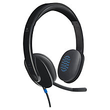 Buy Logitech H540 USB Headset Online at johnlewis.com