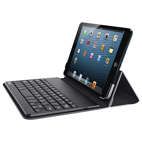 Buy Belkin Portable Keyboard Case for iPad mini & iPad mini with Retina display, Black Online at johnlewis.com