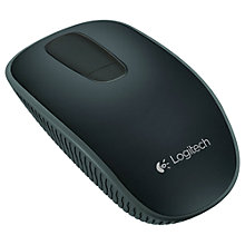 Buy Logitech T400 Zone Touch Mouse, Black Online at johnlewis.com
