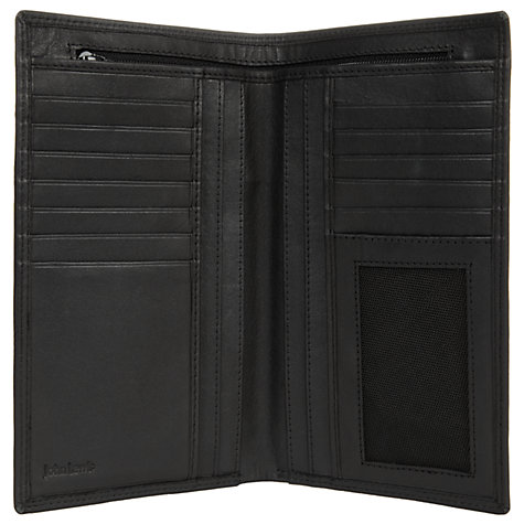 Buy John Lewis Leather Breast Wallet, Black Online at johnlewis.com