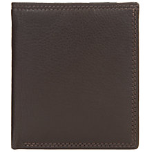 Buy John Lewis Leather Card Holder, Brown Online at johnlewis.com