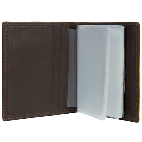 Buy John Lewis Leather Card Holder Online at johnlewis.com