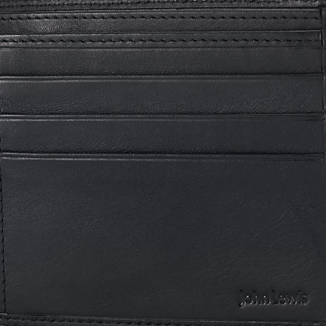 Buy John Lewis Leather Bi-Fold Wallet Online at johnlewis.com