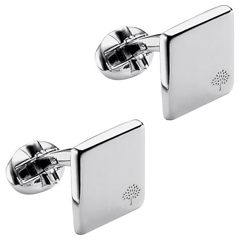 Buy Mulberry Square Tree Cufflinks Online at johnlewis.com