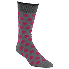 Buy Calvin Klein Polka Dot Egyptian Cotton Socks Online at johnlewis.com