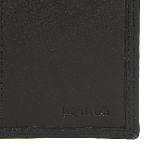 Buy John Lewis Leather Keyring Case, Black Online at johnlewis.com