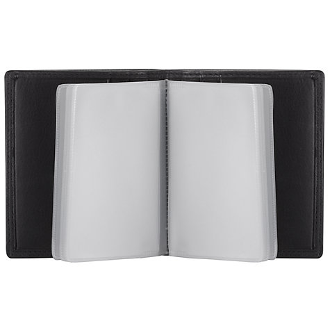 Buy John Lewis Clear Case Wallet, Black Online at johnlewis.com