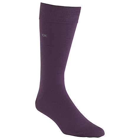 Buy Calvin Klein Plain Socks Online at johnlewis.com