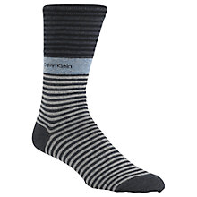 Buy Calvin Klein Bold Stripe Crew Socks Online at johnlewis.com