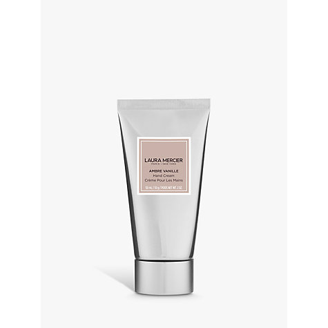 Buy Laura Mercier Ambre Vanillé Hand Cream, 50g Online at johnlewis.com