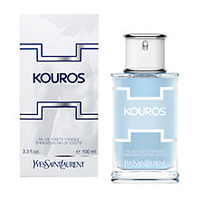 Buy Yves Saint Laurent Kouros Summer Eau De Toilette Spray, 100ml Online at johnlewis.com