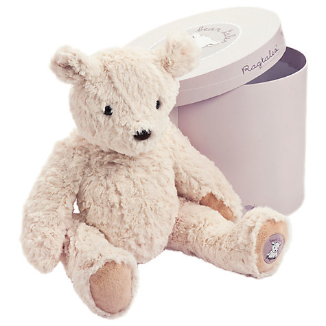 Buy Ragtales Darcy Bear in Hat Box Online at johnlewis.com