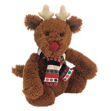 Buy Jellycat Bashful Reindeer Online at johnlewis.com