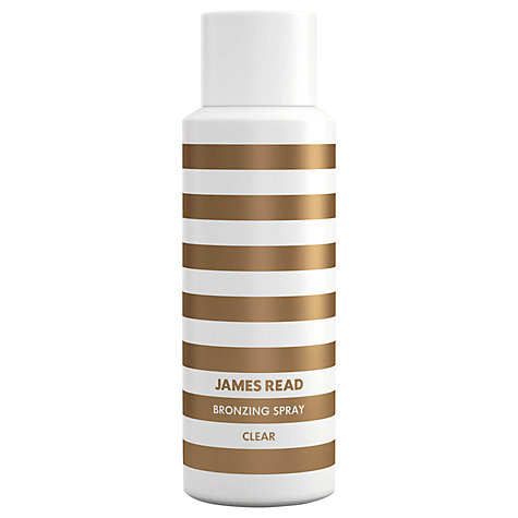 Buy James Read Clear Bronzing Spray, 200ml Online at johnlewis.com