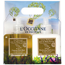 Buy L'Occitane Verbena Hand Wash and Lotion Duo, 2 x 300ml Online at johnlewis.com