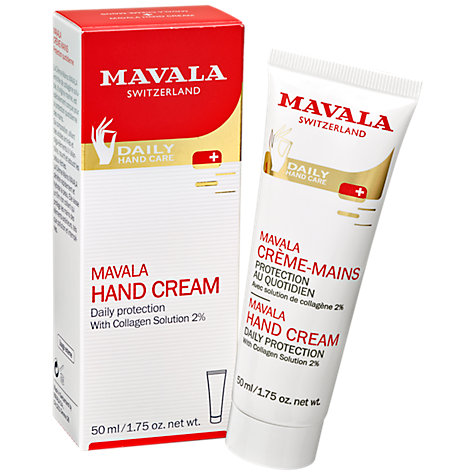 Buy MAVALA Hand Cream with Collagen, 50ml Online at johnlewis.com