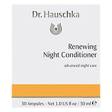 Buy Dr Hauschka Rhythmic Night Conditioner Sensitive, 30 Ampules Online at johnlewis.com