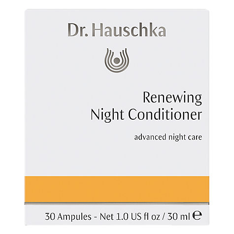 Buy Dr Hauschka Rhythmic Night Conditioner, 30 Ampules Online at johnlewis.com