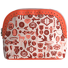 Buy Tender Love & Carry Pinny Make-Up Pouch, Orange Online at johnlewis.com