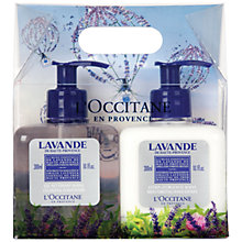 Buy L'Occitane Lavender Hand Care Duo, 2 x 300ml Online at johnlewis.com