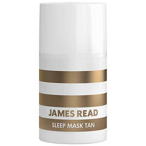 Buy James Read Sleep Tan Mask, 50ml Online at johnlewis.com